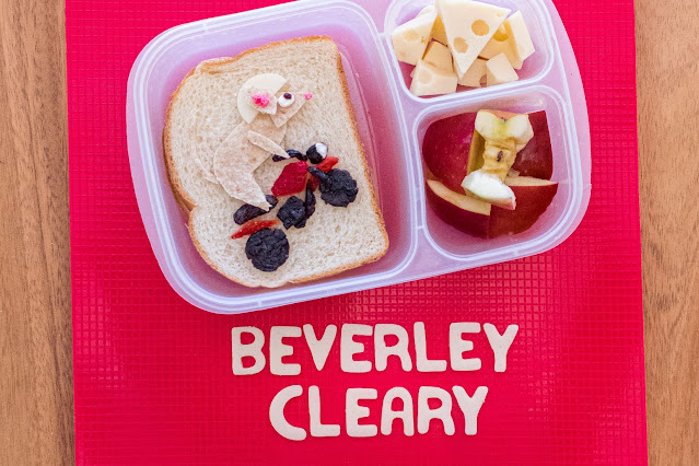 A Beverley Cleary The Mouse and The Motorcycle Food Art Lunch Recipe