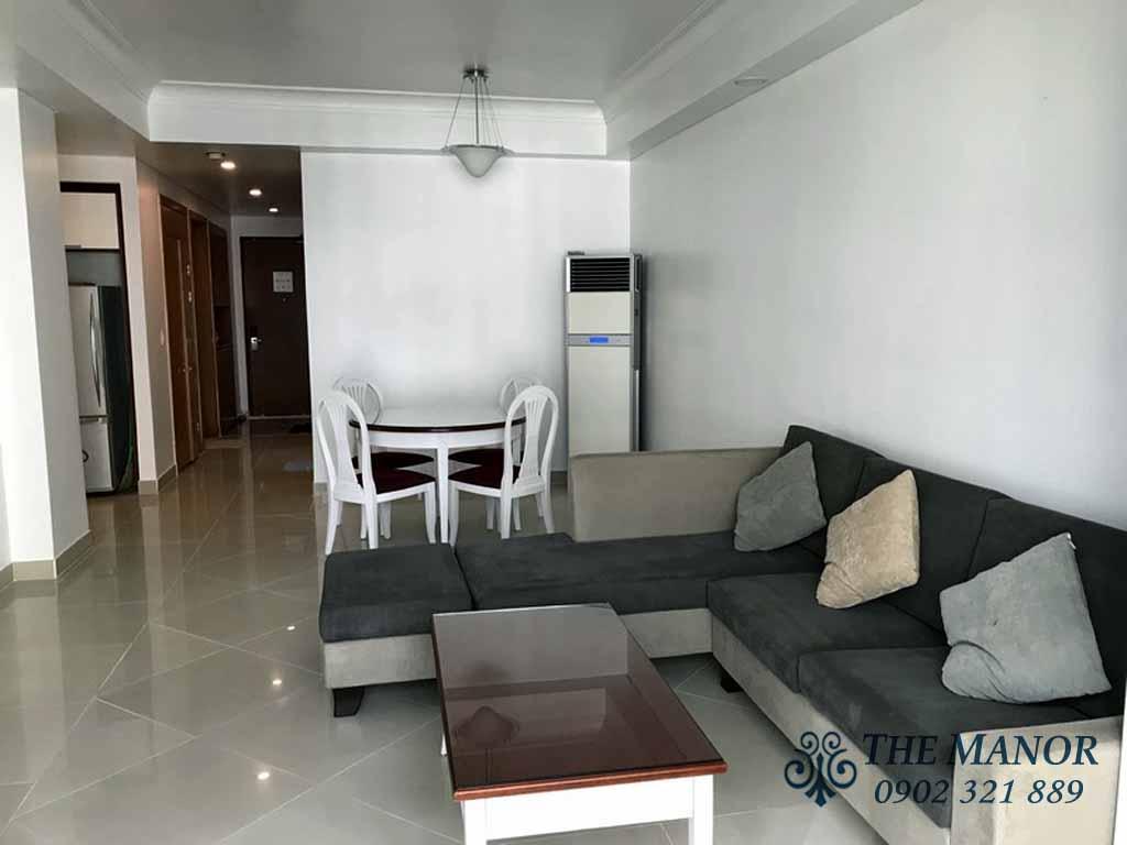 Chung cư Manor 91 Nguyễn Hữu Cảnh quận Bình Thạnh cho thuê 3PN - hinh 3