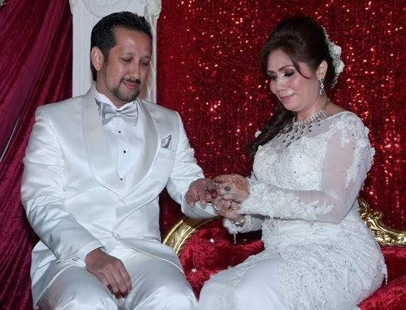 Persandingan Rayyan King  Tengku Zawyah Majlis