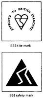 BSI Kite Mark and Safety Mark