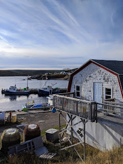 Fishing Boats In Neil's Harbour, Cape Breton Island