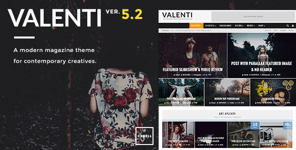 قالب ووردبريس Valenti v5.2.2