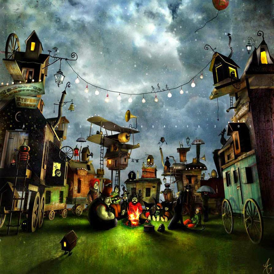 19-Alexander-Jansson-Fairy-tale-Worlds-in-Surreal-Paintings-www-designstack-co