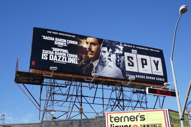 Spy Netflix FYC billboard