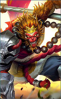 Sun Monkey King Heroes Fighter of Skins Rework