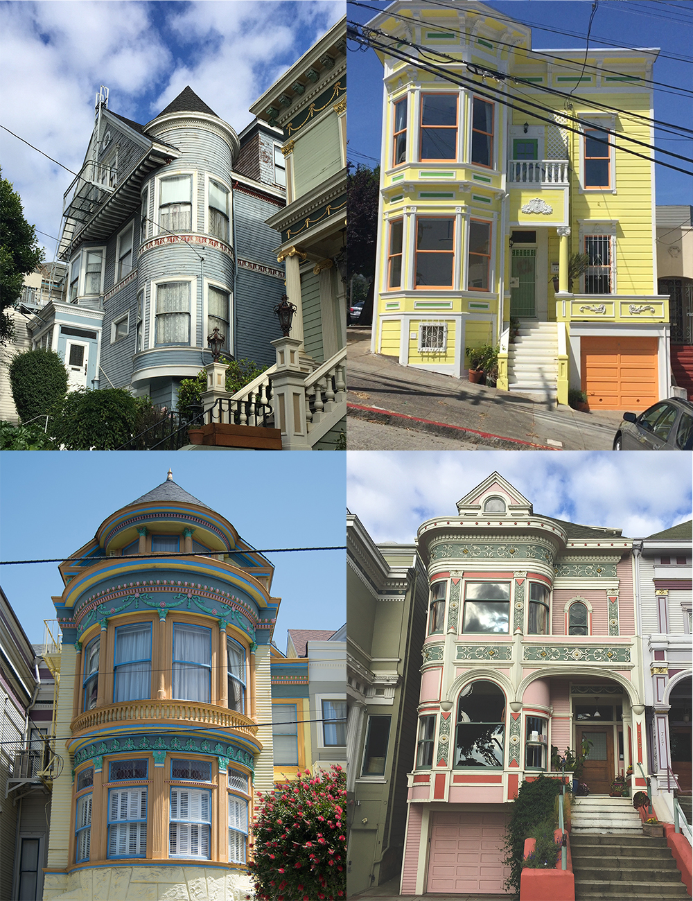 Victorian Houses San Francisco