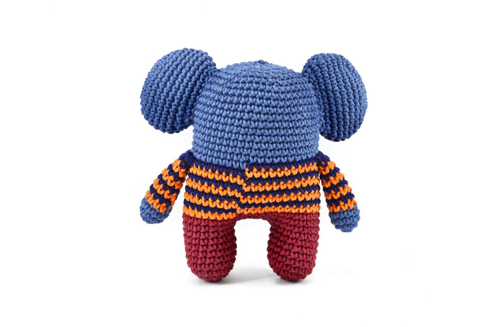 Elefante Amigurumi no Elo7   ToyArt Amigurumi (C0B994)   1066x1600