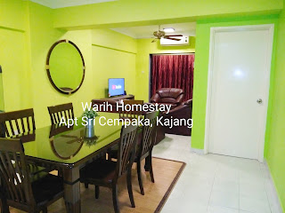 Warih-Homestay-Sri-Cempaka-Dining-And-Living-Hall