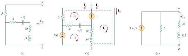 thevenin norton ac circuit