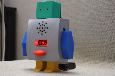 Microbit talking robot
