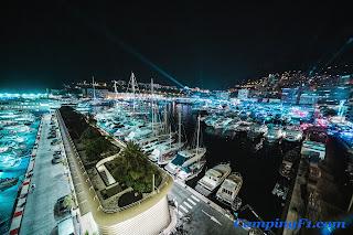 Monaco Harbour Camping F1
