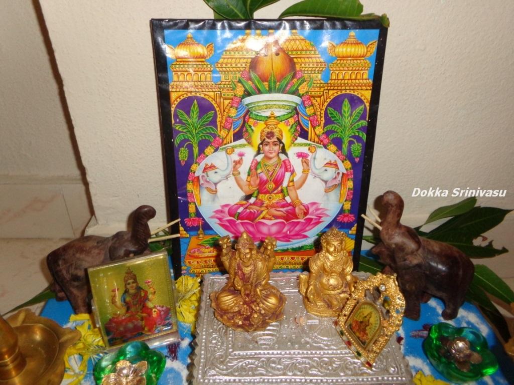 Heritage of India: Varalakshmi Vratham in Sravana masam
