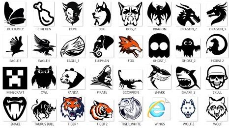 mentahan logo esport picsay pro