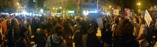 Arabs and Jews rally together