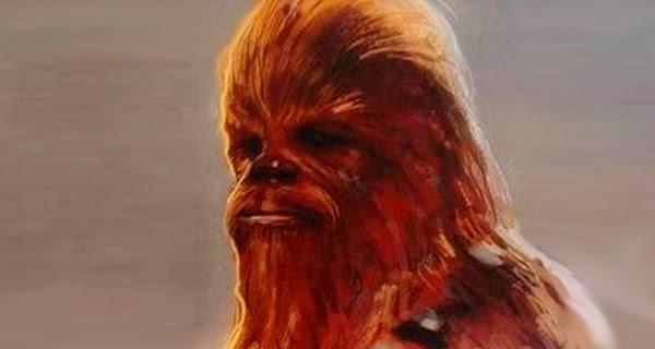 Concept Art Chewbacca Star Wars 7: The Force Awakens