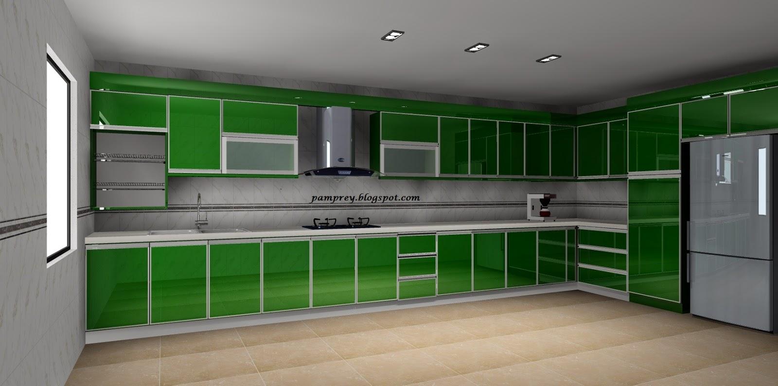 Inium Kinraramas Kinrara Kabinet Dapur Concrete Tile