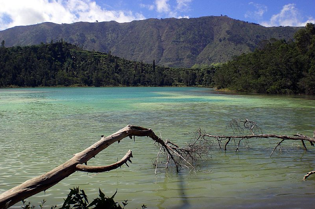 Telaga Warna Dieng (The Colored Lake)