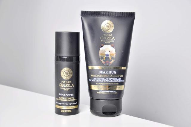 recenzja żelu do mycia twarzy i kremu do twarzy natura siberica for men