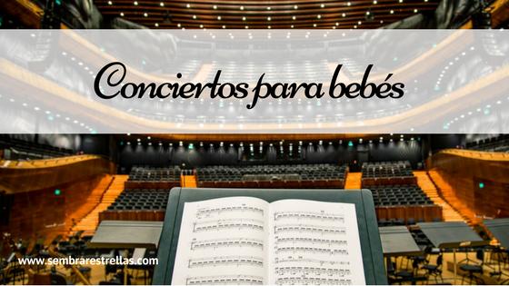Musica en familia, musica para niños, teatro y niños, Conciertos para bebé