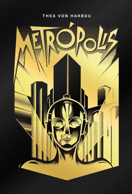 Livro e Filme Metrópolis