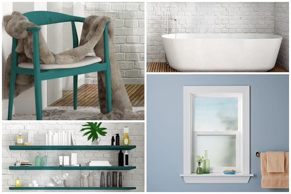 Decoración-Crear-spa-baño-casa-Rust-Oleum
