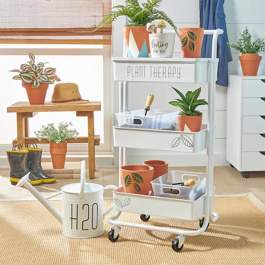 Craft Organizer Garden Cart