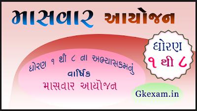 Masvar Aayojan Std 1 to 8