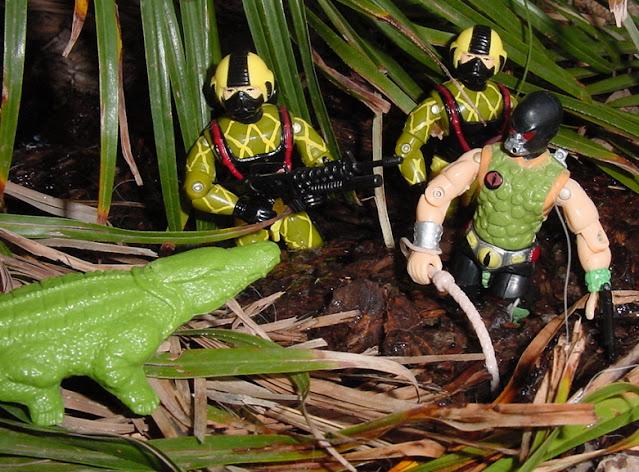 Funskool Croc Master, Road Pig, 1987, 1988, 1989 Python Patrol Copperhead