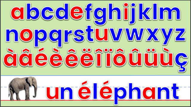 lettres magnétiques avec accents