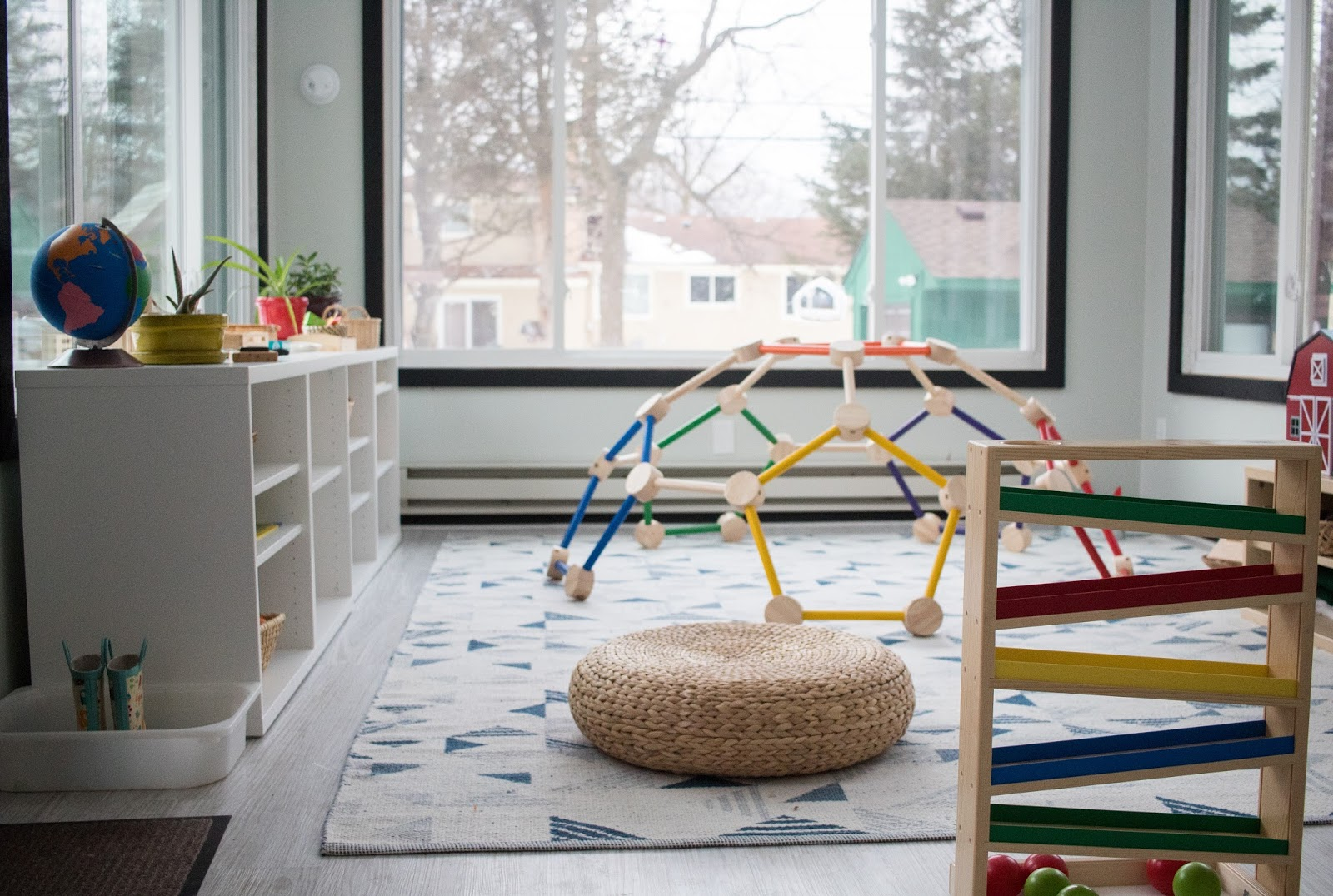 Our Shared Montessori Playroom