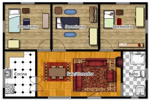 Planos De Casas Modelos Y Disenos De Casas Arquitectura Planos De - Arquitectura-de-casas