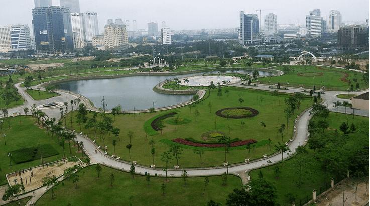 Công viên Cầu Giấy 10ha