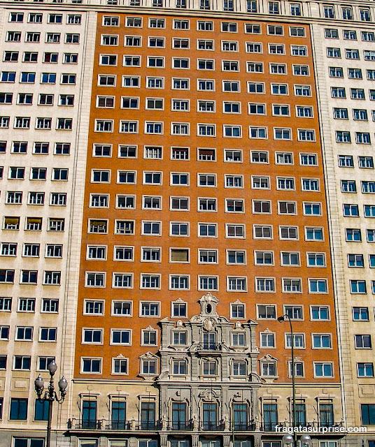 Edifício España, Madri