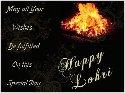 Happy Lohri Sms for Friends, Relatives, Family