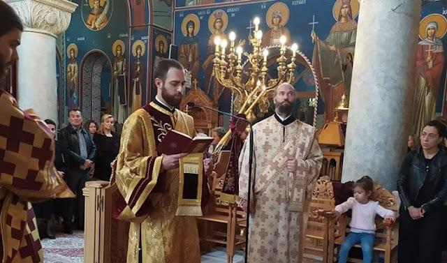 Ο Γεώργιος Μαρουφίδης από το Άργος χειροτονήθηκε διάκονος από τον Μητροπολίτη Γλυφάδας