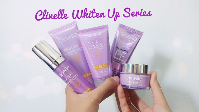 [REVIEW] Clinelle Whiten Up Brightening Series – Bye Bintik Hitam dan Kulit Kusam