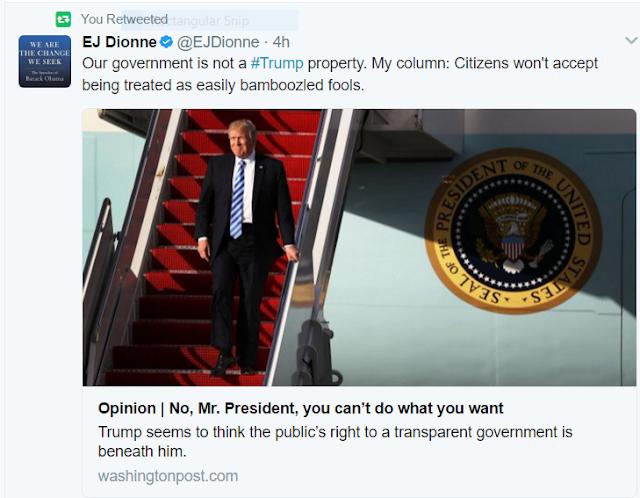 4.20.17: How far is too far? The Trump impeachment debate begins now.