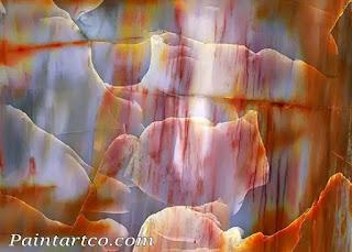 لوحات-فنية-بسيطة-لوحات-تشكيلية-رائعة-من-الصخور-لوحة-فنية-زيتية-رائعة-وبسيطة-وسهلة