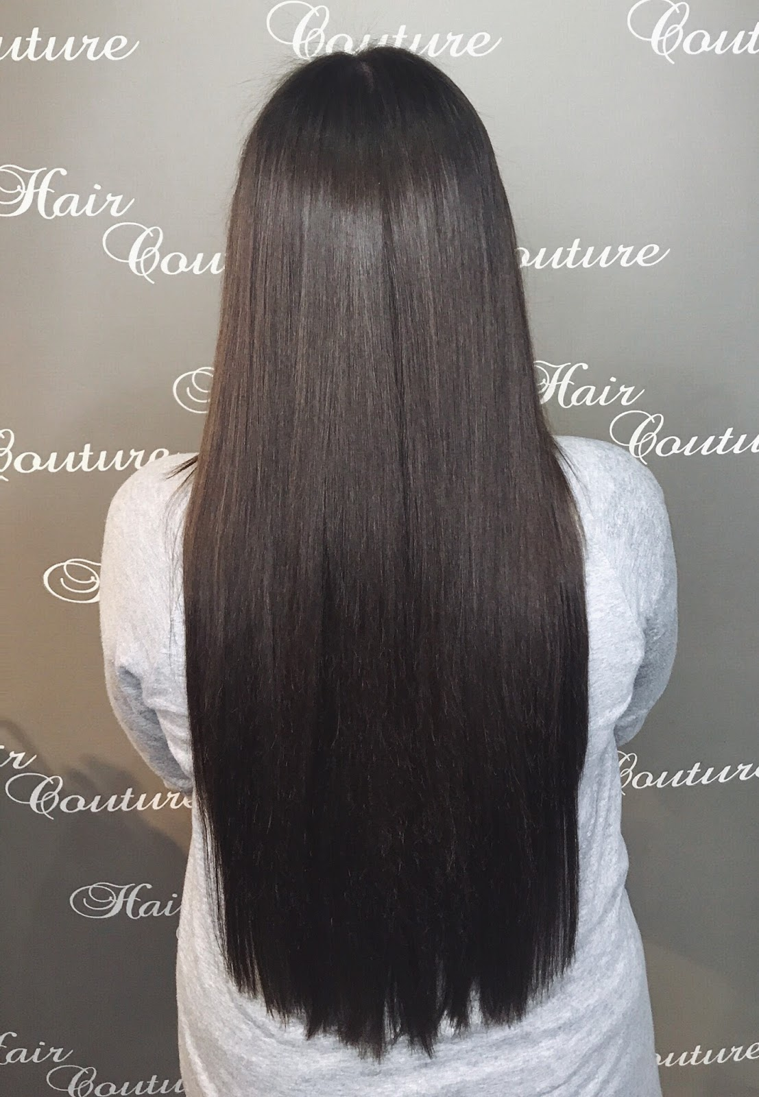 La Weave Extensions Blow Dry Hair Couture Paige Paris