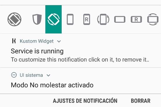 forzar a girar la pantalla en cualquier aplicacion android