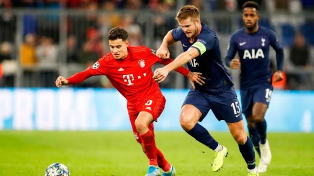Bayern Munich 3 - 1 Tottenham champions league highlight