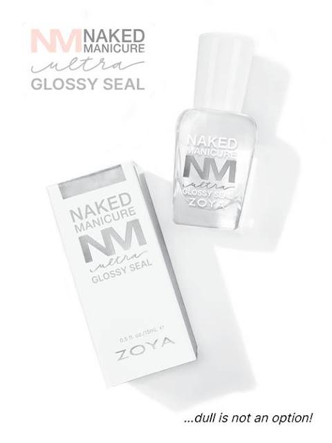 Zoya Naked Manicure Glossy Seal Topcoat