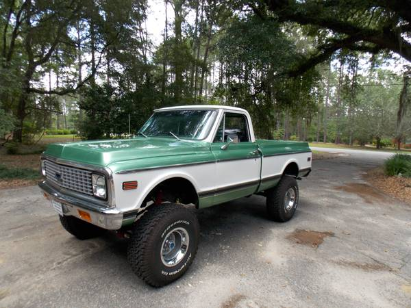 1972 Chevy Truck 4x4 Conversion