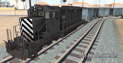 gta sa mod hd train freight remaster