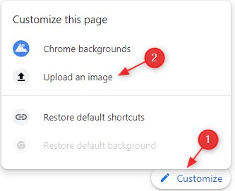 How to Change the Background of Google Chrome with Your Own Photos on a PC