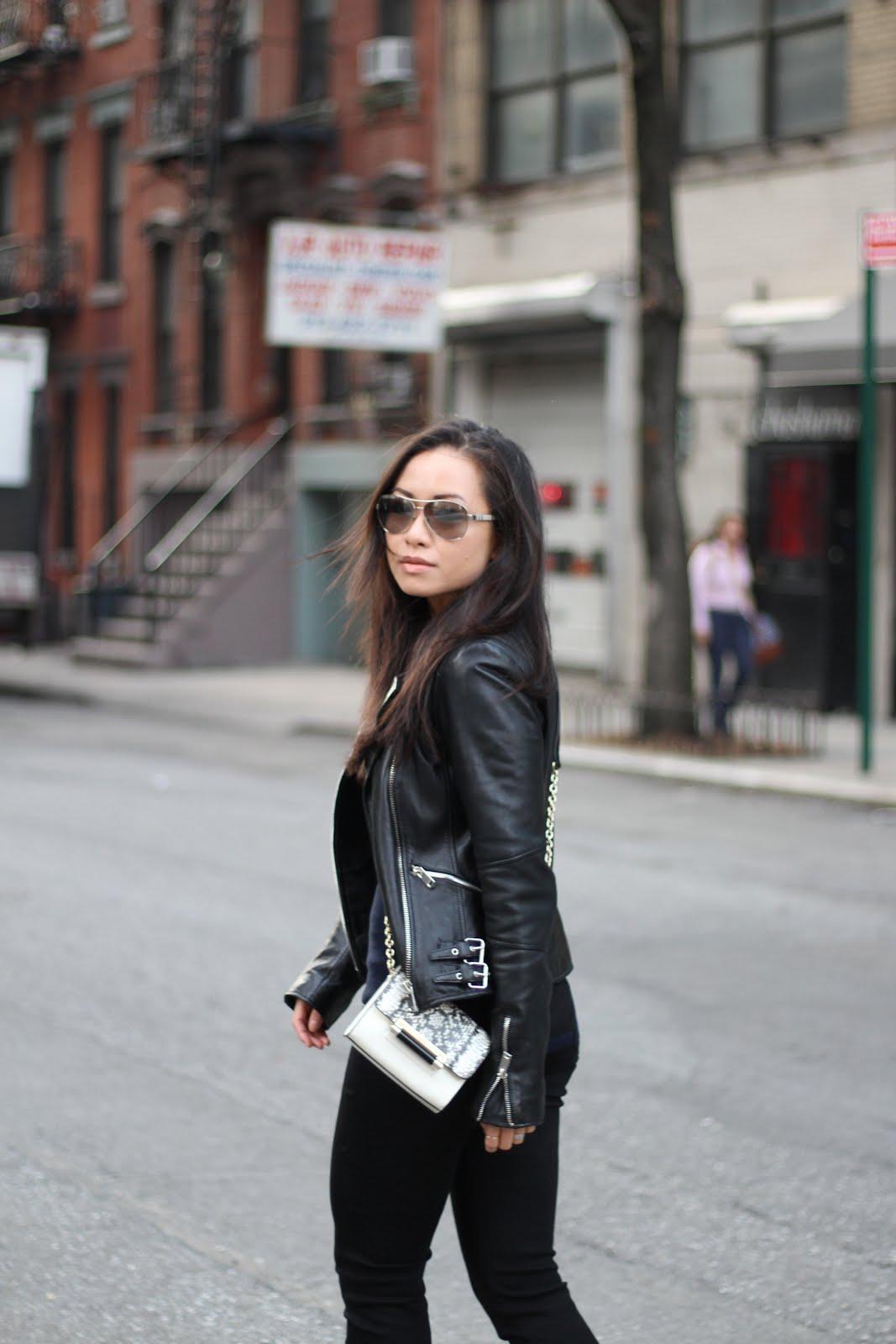black leather jacket snapshots of my closet fashion blogger