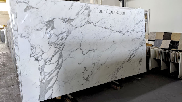 Statuary White Marble Slabs NYC