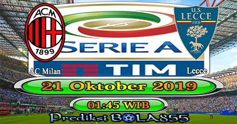 Prediksi Bola855 AC Milan vs Lecce 21 Oktober 2019
