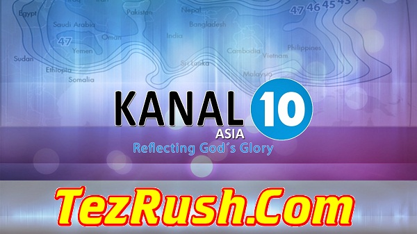 Kanal 10 Asia TV Channel Official Logo 2018 TezRush