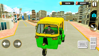 Tuk Tuk Pick Up Passenger City Driving Game - APK Download | Auto rickshaw wala game